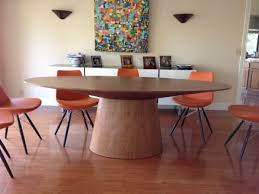 sullivan round dining table modloft sullivan dining table in walnut is 1350 new we ve only had