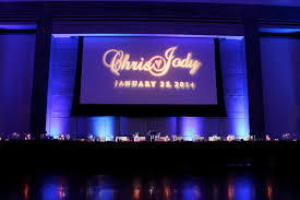 wedding backdrop monogram gobo monogram projection personalize your wedding or special event
