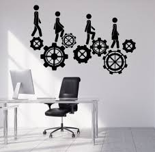 popular teamwork stickers buy cheap teamwork stickers lots from creative office decoration vinyl wall stickers home interior decor teamwork wall decals 40 colors available art