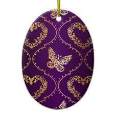 purple butterfly ornaments keepsake ornaments zazzle