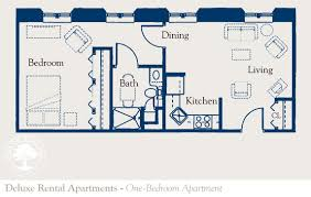 Railroad Apartment Floor Plan by Enjoy Retirement At The Masonic Village At Elizabethtown