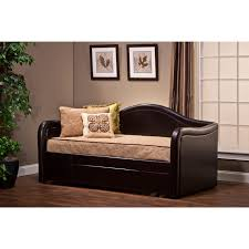 twin daybed trundle bed beds accessories compare prices at hillsdale brenton daybed with trundle brown size twin