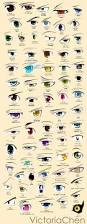 what do different colours mean anime eyes poster colored by victoriachen on deviantart