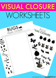 visual closure activity bugs theme the ot toolbox