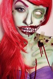 Halloween Costumes Ariel Ariel Zombie Love Fork Sticking Shoulder Blade