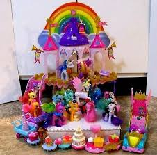 mlp wedding castle my pony wedding castle complete shining armor cadance w