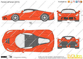 ferrari laferrari sketch the blueprints com vector requests laferrari 2013
