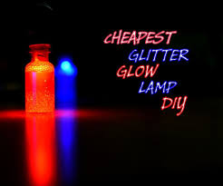 diy glitter glow lamp 5 steps with pictures