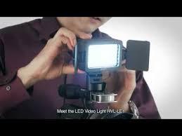 sony hvl le1 handycam camcorder light sony led video light hvl le1 youtube