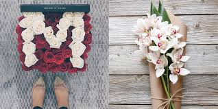 Flowers Delivered With Vase Best Floral Delivery Services For Valentine U0027s Day Most Stylish