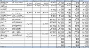 Mechanical Construction Estimating by Estimating Software Spreadsheets