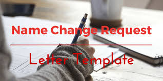 letter for change of name after marriage template our peaceful