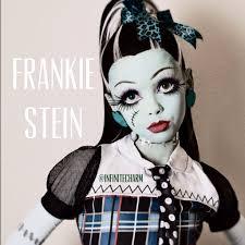 Monster High Frankie Stein Halloween Costume by Frankie Stein Halloween Costume And Makeup Halloween Makeup