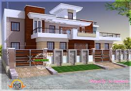 modern style india house plan kerala home design and floor plans