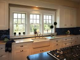 kitchen decorating creative kitchen window treatments bow window
