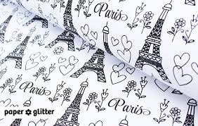 eiffel tower wrapping paper printable wrapping paper research