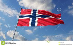 norwegian flag stock footage video 39782534