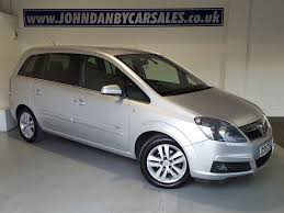 vauxhall zafira 2008 used soverign silver vauxhall zafira for sale lincolnshire