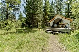 Wall Tent by Luxury Tents Sustainable Ranch Oregon Glamping Tents Eco Friendly