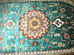 Green Persian Rug Persian Rug 2 5 U0027x4 U0027 Turkmen Carpet Tribal 100 Silk U2013 Induscarpets