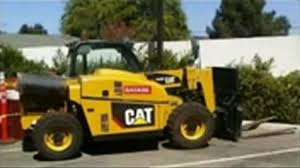 caterpillar cat th255 telehandler operation and maintenance manual