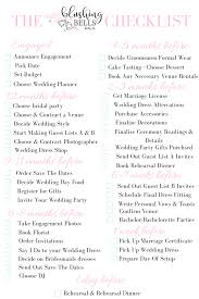 wedding checklist book wedding advice wednesday theblushing bells wedding checklist