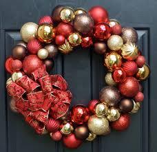 vintage style balls wreath ho ho ho wreaths