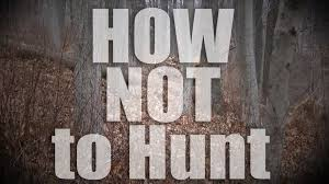 Bow Hunting From Ground Blind How Not To Hunt Deer From The Ground Bow Ninja Junior Youtube