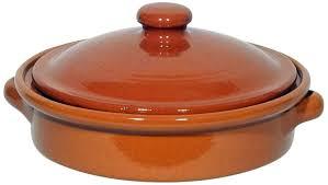 vaisselle en terre cuite amazing cookware plat circulaire avec couvercle en terre cuite