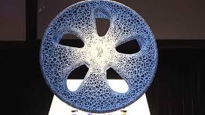 pneu sans chambre à air michelin dévoile vision concept un pneu sans air et increvable
