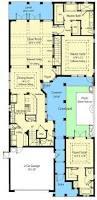 energy saving courtyard house plan 33047zr architectural