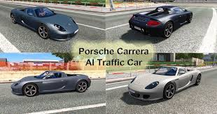 porsche truck 2015 porsche carrera gt ai traffic car mod euro truck simulator 2 mods