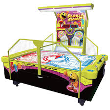 hockey time air hockey table namco pac man smash arcade air hockey table liberty games