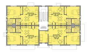 best 4 unit apartment building plans photos home ideas design