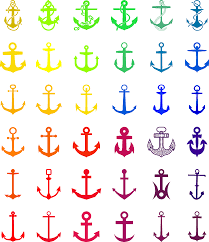 Love Anchors The Soul Print - anchor clipart