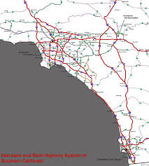 Ojai California Map Southern California Freeways Wikipedia
