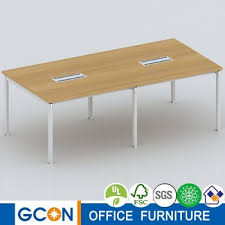 Melamine Rectangular Conference Table 10 Person Conference Table