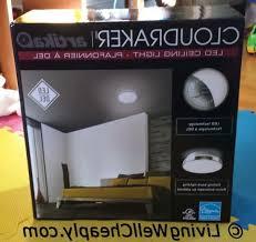 Costco Led Light Fixture Artika Cloudraker Led Ceiling Light Costco Led Light Fixture 1