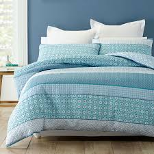 trebah quilt cover set by phase 2 manchester house