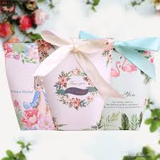 christmas gift wrap sale candy box bag packing creative starry sky flamingo rabbit easter