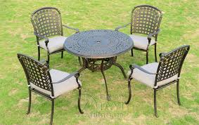 Cast Aluminum Patio Chairs 5 Cast Aluminum Patio Furniture Garden Furniture Outdoor