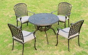 Cast Aluminum Patio Chair 5 Cast Aluminum Patio Furniture Garden Furniture Outdoor