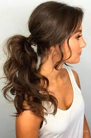 ponytail hairstyles for the 25 best wedding ponytail hairstyles ideas on pinterest