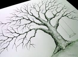 drawn tree beautiful tree pencil and in color drawn tree
