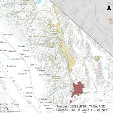 Map Of San Bernardino California Gama Groundwater Ambient Monitoring And Assessment