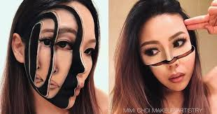 makeup artist this makeup artist can transform into a glitch in the