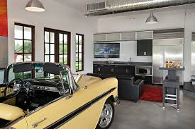 impressive garage man cave contemporary garage and shed