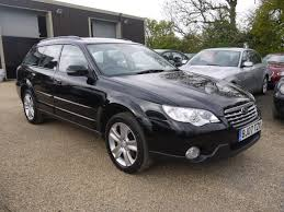 subaru outback convertible used 2007 subaru outback 2 5 se awd estate in black with black