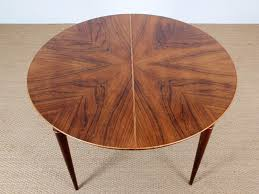 mid century modern round dining table danish mid century modern round dining table by illum wikkelsø