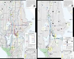 Seattle Bus Map by Seattle Bus Restructure Takes Effect And An Ode To The 70 Series